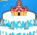Decorar bolo castelo Frozen