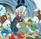 Pato Donald quebra cabeça