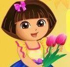 Dora colher flores