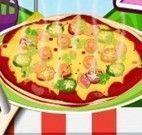 Fazer pizza de bacon
