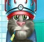 Gato Tom na emergência