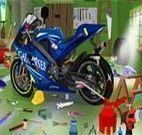 Achar objetos cenário da moto