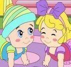Colorir imagem dos bebês