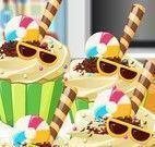 Receita de cupcakes de verão