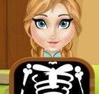 Elsa fazer raio-x