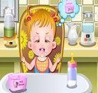 Dar mamadeira e troca fralda de Bebê