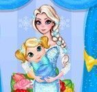 Elsa arrumar quarto do bebê