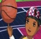 Vestir rapaz para jogar basquete