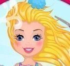 Barbie cuidar dos cabelos