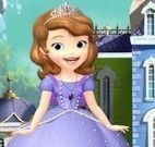 Princesa Sofia aula de ciências