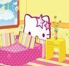 Decoração do quarto Hello Kitty