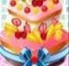 Decorando o bolo