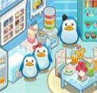 Decorar a casa dos pinguins