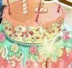 Decorar bolo da Barbie