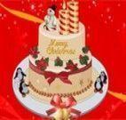 Decorar o bolo de natal