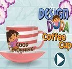 Decorar Xícara da Dora