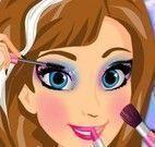 Anna Frozen maquiagem especial