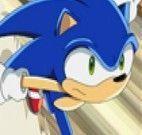 Diferenças nas imagens do Sonic