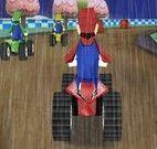 Corrida de carro com Mario