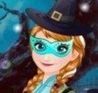 Frozen achar objetos do Halloween