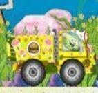 Dirigir caminhão com Bob Esponja
