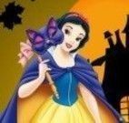 Branca de Neve fantasia do Halloween