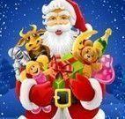 Jogo das diferenças do Papai Noel