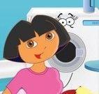 Dora lavagem das roupas