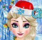 Natal moda Elsa Frozen