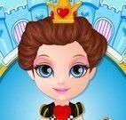 Vestir Barbie rainha