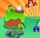 Decorar bolo dos Angry Birds