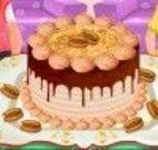 Fazer bolo de chocolate com nozes