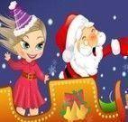 Roupas da bebê e Papai Noel
