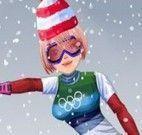 Roupas para esquiar nas olimpíadas