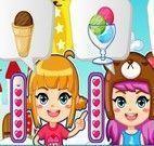 Preparar sorvetes para vender