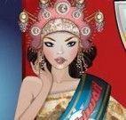 Vestir Miss da Tailândia