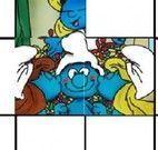 Montar puzzle dos Smurfs