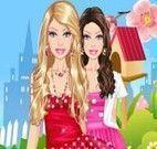 Vestir Barbie na moda poá