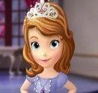 Princesa Sofia no cabeleireiro