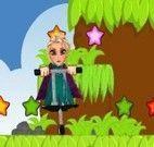 Saltar com Elsa