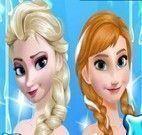 Anna e Elsa roupas da moda