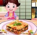 Receita de lasanha vegetariana
