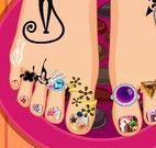 Pedicure da princesa
