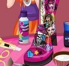 Decorar bota da Monster High