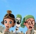 Encontrar números Mr Peabody e Sherman