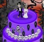Decorar bolo de terror