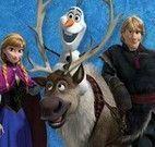 Frozen aventuras na neve