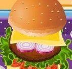 Fazer hambúrguer e batata frita