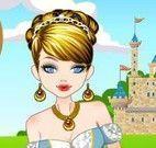 Vestir princesa e gatos