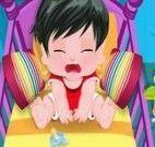 Quebra cabeça do bebê